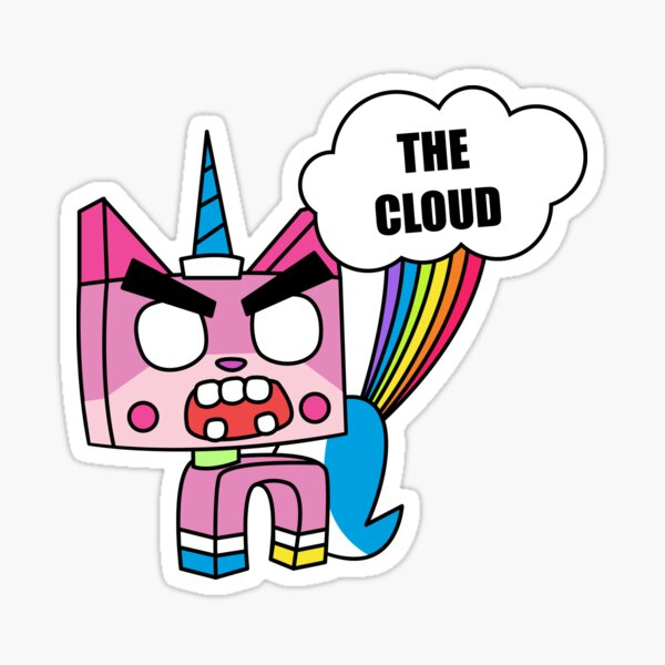 THE CLOUD Sticker