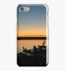 Sunset on Puget Sound iPhone Case/Skin