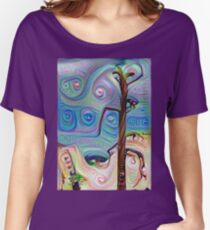 Tree In The Desert Women's Relaxed Fit T-Shirt