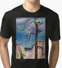 Tree In The Desert Tri-blend T-Shirt