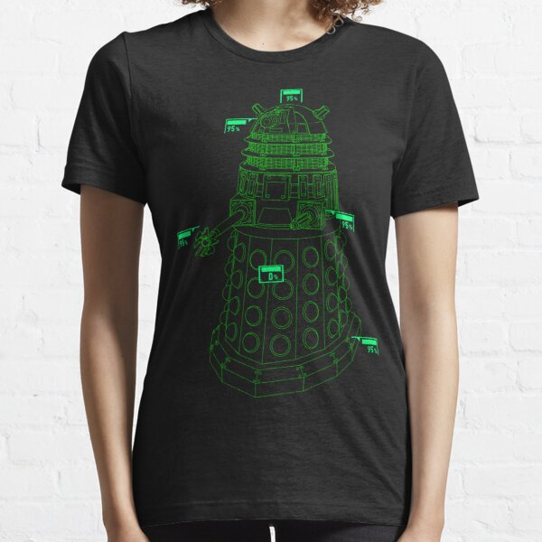 Exterminate the Robot - Dark Essential T-Shirt