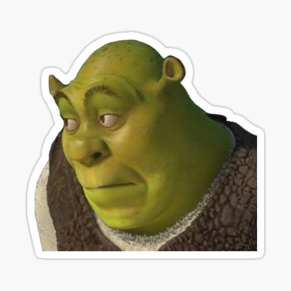 Shrek Yikes Face Sticker