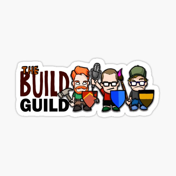 The Build Guild Official Whatever Sticker