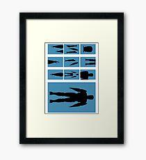 Anatomy of a Good Cop Framed Print