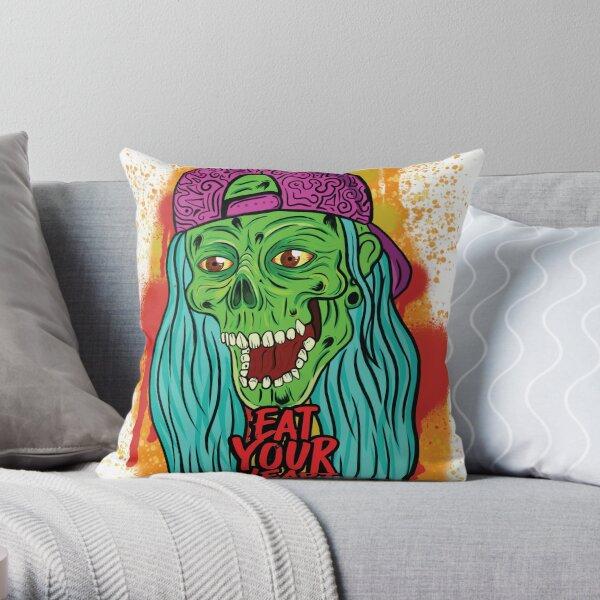 Sang Éclaboussé de toilette Stickers Zombie Halloween Horreur Fête Décoration 1