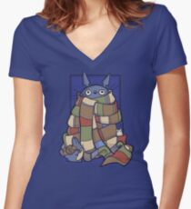 Totowho Women's Fitted V-Neck T-Shirt