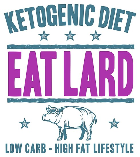 EAT LARD - Ketogenic Diet And Ketosis Inspiration