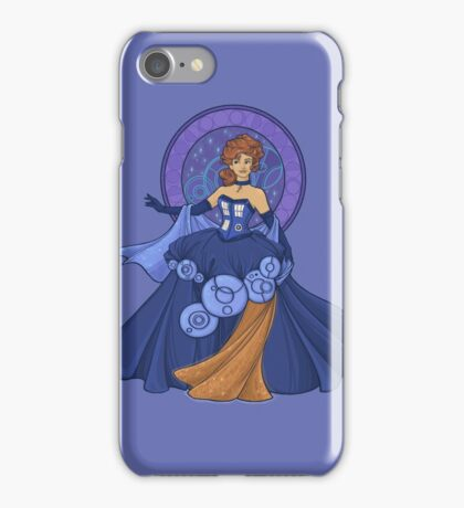 Gallifreyan Girl iPhone Case/Skin