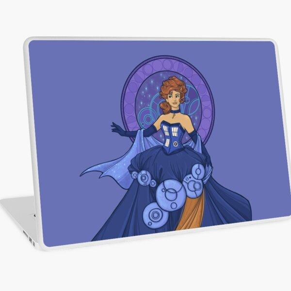 Gallifreyan Girl Laptop Skin