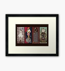 Haunted Galaxy Framed Print