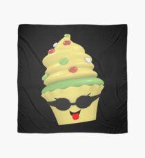 cooles Cupcake Emoticon Tuch