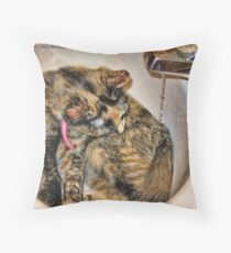 Water Lover Throw Pillow