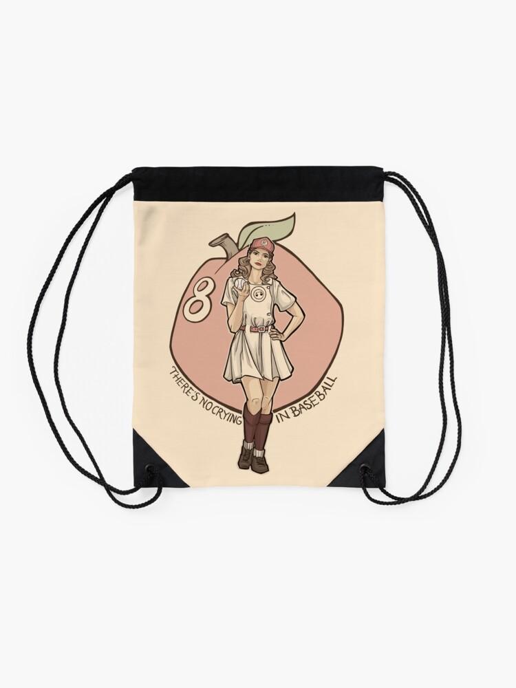 Alternate view of Queen of Diamonds Drawstring Bag