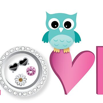 Love Owl with charm by msb1016