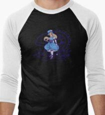 Steampunk Alice - Revised Men's Baseball ¾ T-Shirt