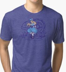 Steampunk Alice - Revised Tri-blend T-Shirt
