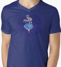 Steampunk Alice - Revised Men's V-Neck T-Shirt