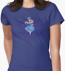 Steampunk Alice - Revised Women's Fitted T-Shirt