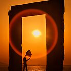 Gate of the Winds - Portara, Naxos island by Hercules Milas