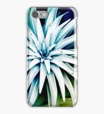 Blue Spiral Abstract iPhone Case/Skin