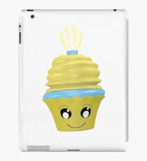 Cupcake Emoticon mit Geistesblitz iPad-Hülle & Klebefolie