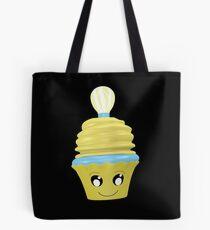 Cupcake Emoticon mit Geistesblitz Tasche