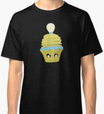 Cupcake Emoticon mit Geistesblitz Classic T-Shirt