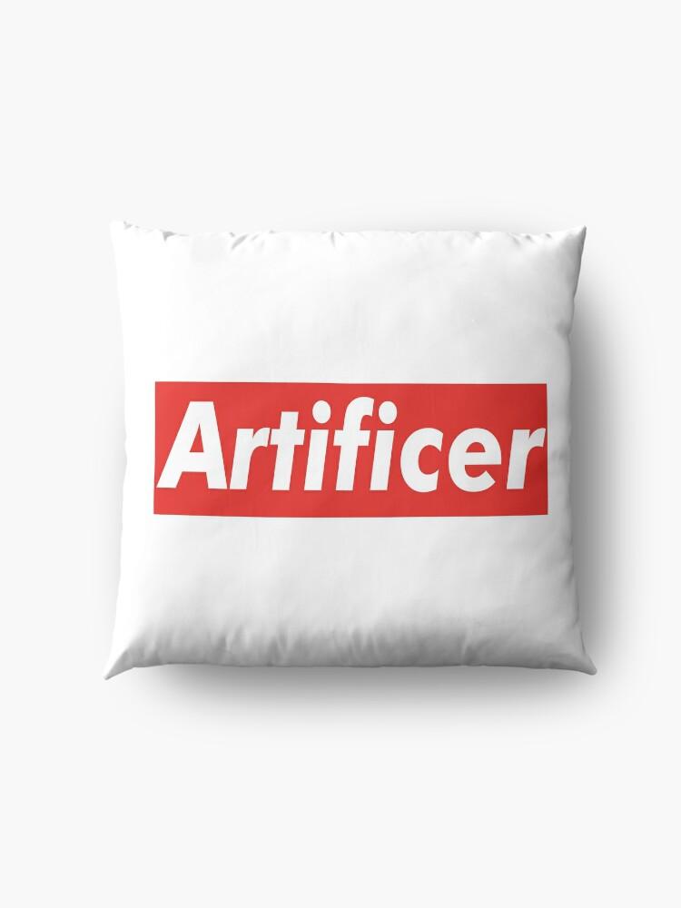Alternate view of D&D Supreme [ARTIFICER] Floor Pillow