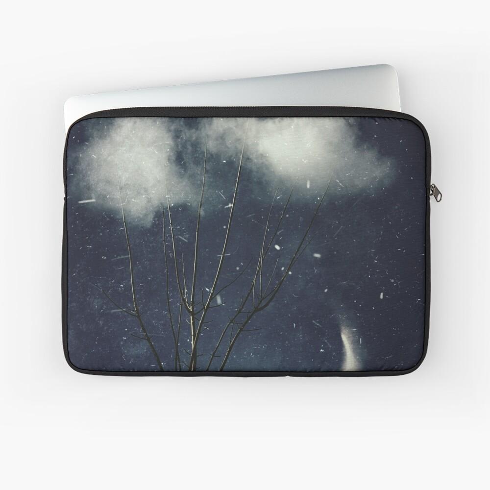 tree in clouds Laptop Sleeve
