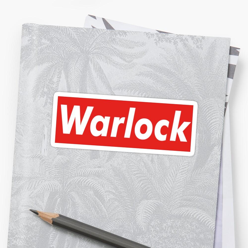 D&D Supreme [WARLOCK] Sticker