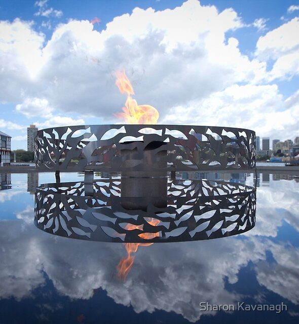 It's a Flamin Reflection by Sharon Kavanagh