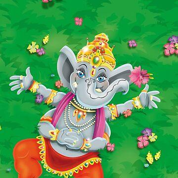 Ganesha / Shivas World von Swen-Marcel