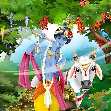 Krishna / Shivas World von Swen-Marcel