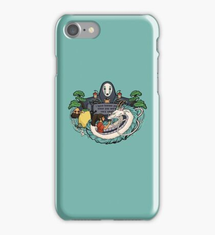 Spirit World iPhone Case/Skin
