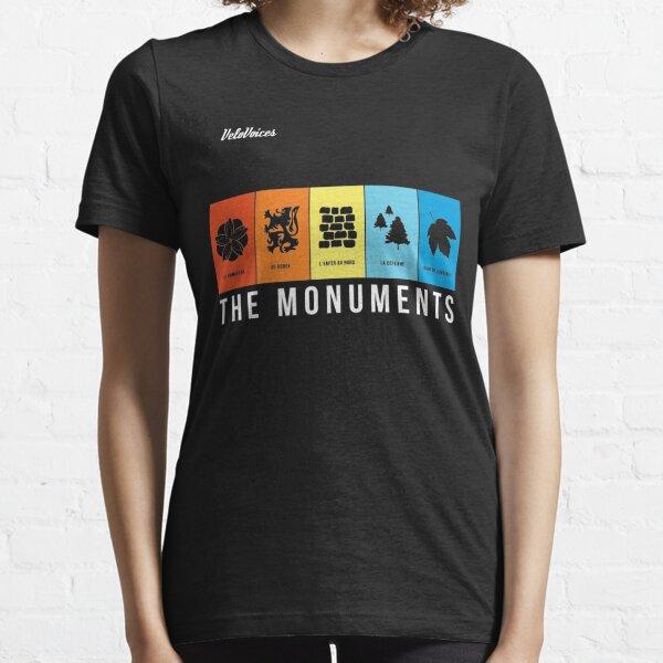 Les monuments T-shirt essentiel