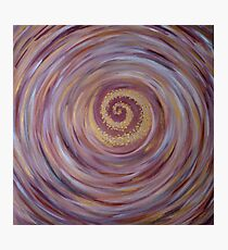"""Fine art. Abstract. """"Energy of Earth"""". Acrylic painting. Photographic Print"""