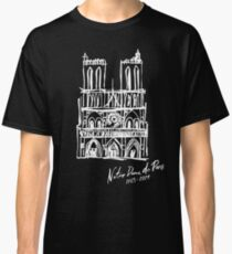 Notre Dame Cathedral Fire in Paris Classic T-Shirt