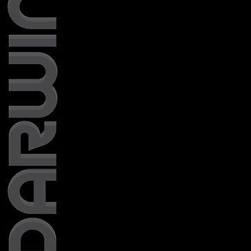 Darwin Vertical Text by designkitsch