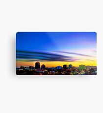 The Color of Downtown Albuquerque Metal Print