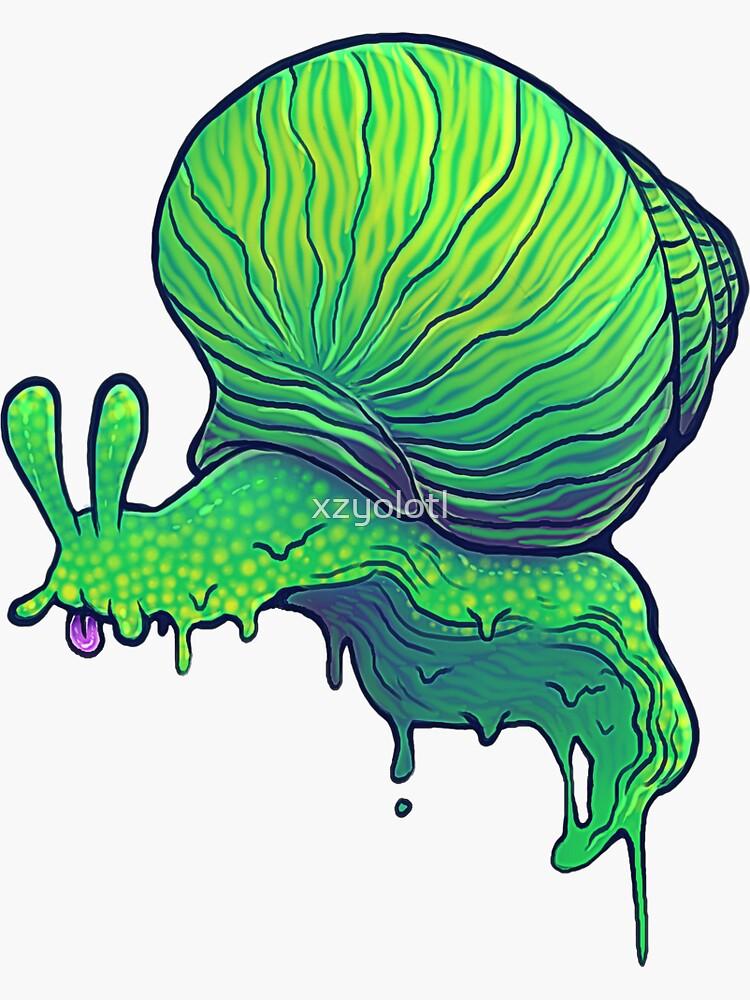 A Snail by xzyolotl