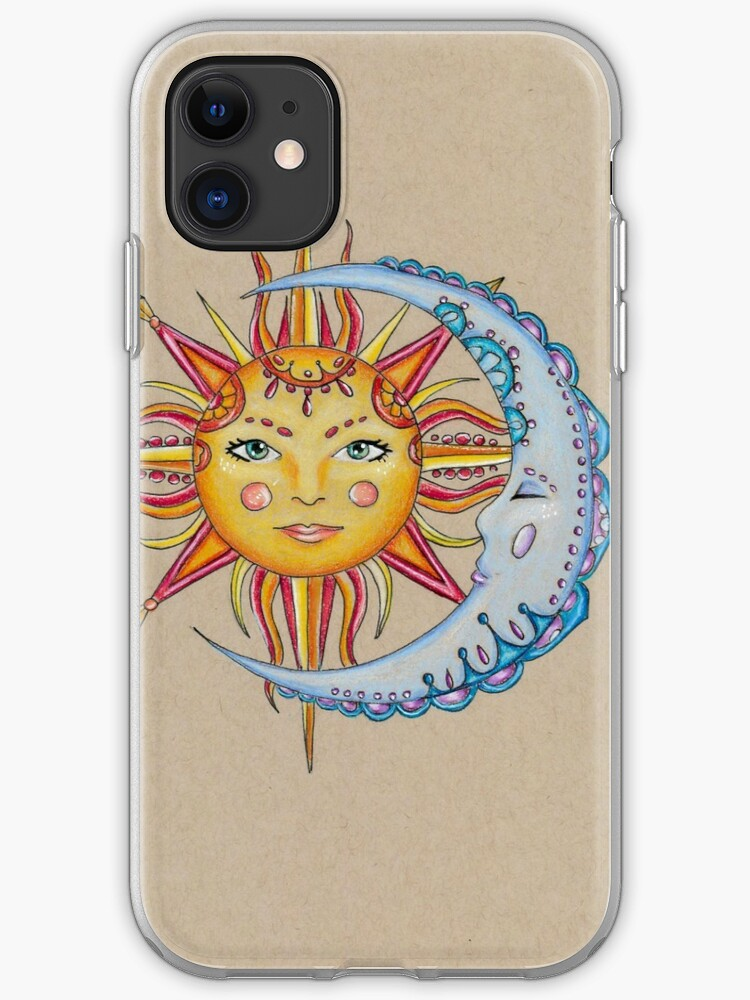 Tiger Moon iPhone 11 case