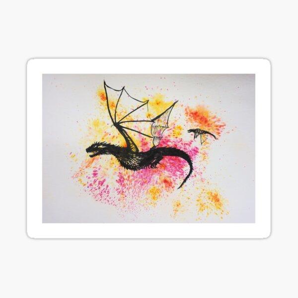 Dragons of Morning Sticker