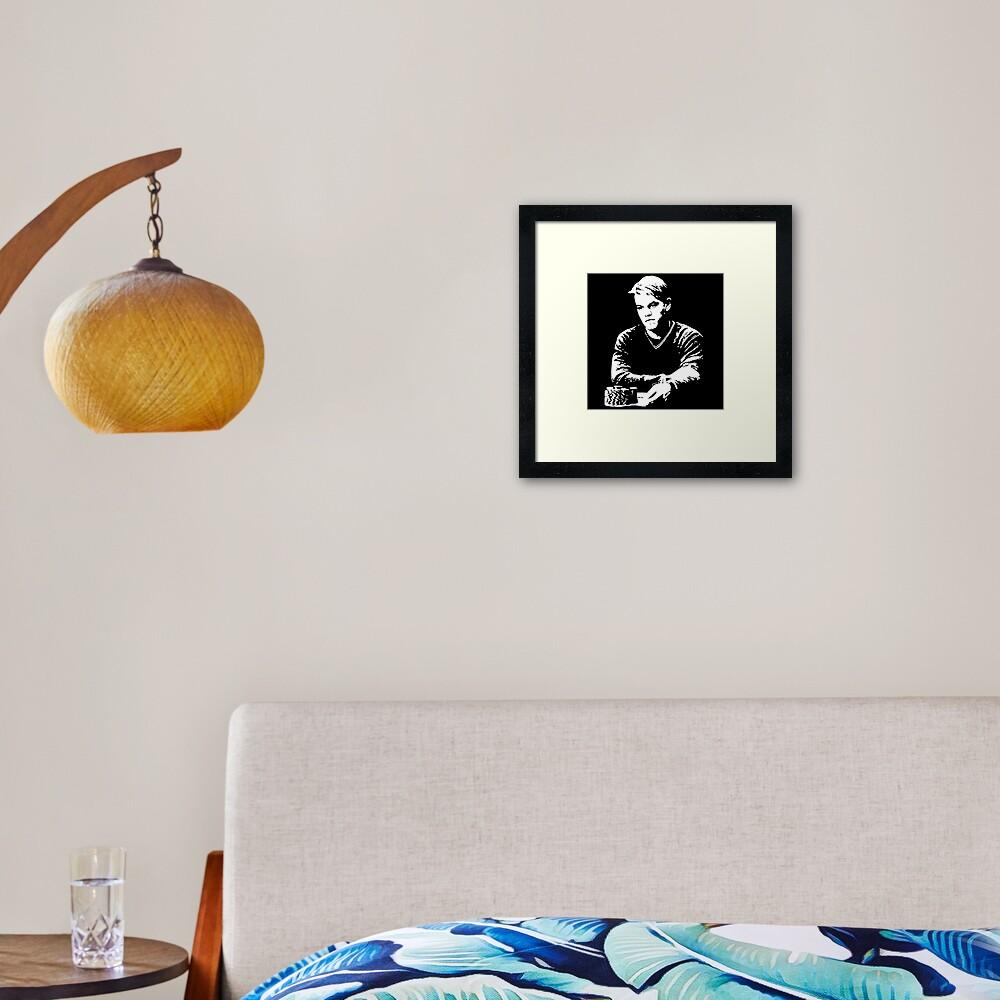 Mike McDermott - Rounders Framed Art Print