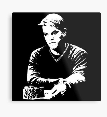 Mike McDermott - Rounders Metal Print