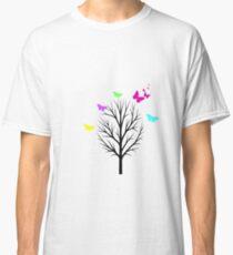 Butterfly Colour Burst Classic T-Shirt