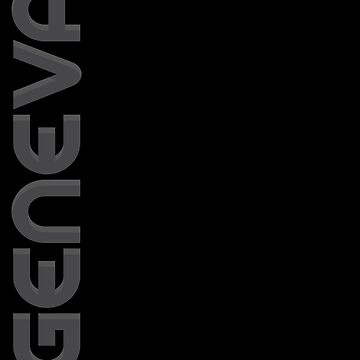 Geneva Vertical Text by designkitsch