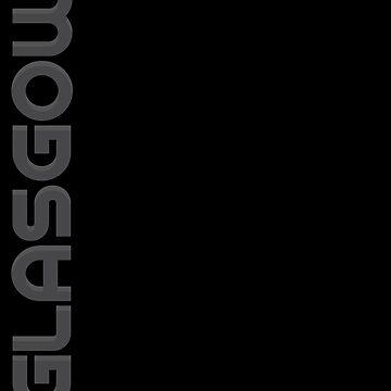Glasgow Vertical Text by designkitsch