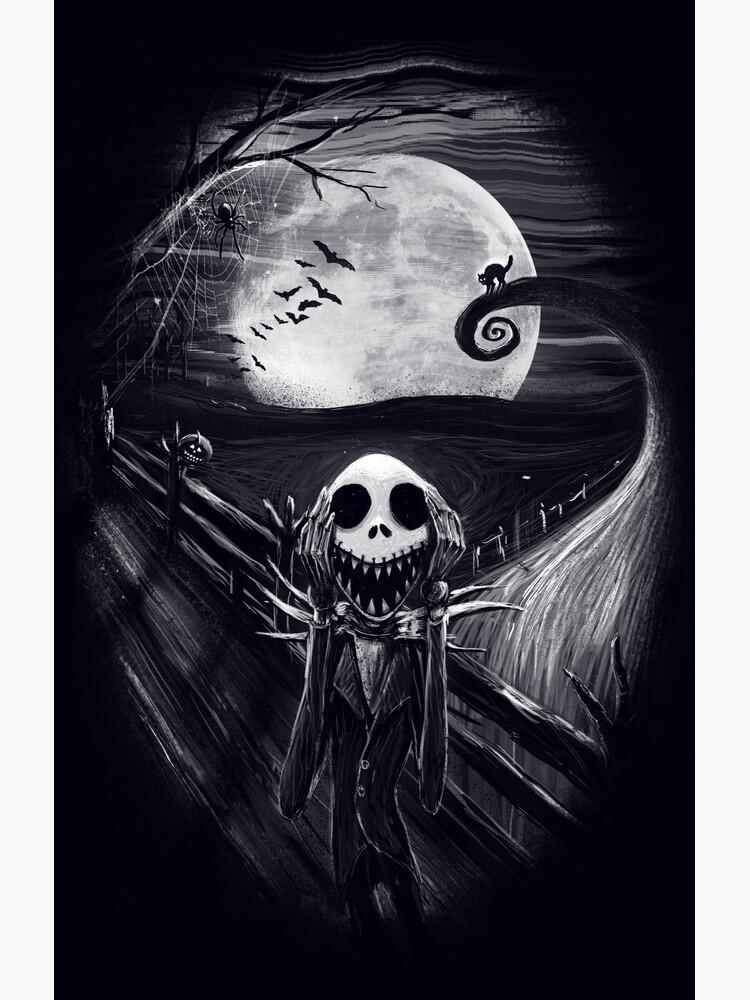The Scream Before Christmas by nicebleed