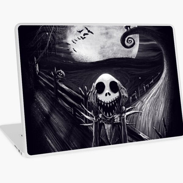 The Scream Before Christmas Laptop Skin