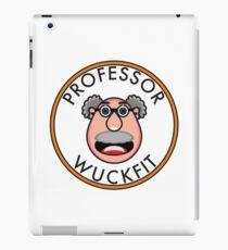 Professor Wuckfit - the Official Logo iPad Case/Skin